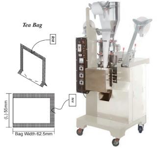 AUTOMATIC TEA- BAG PACKAGING MACHINE Image