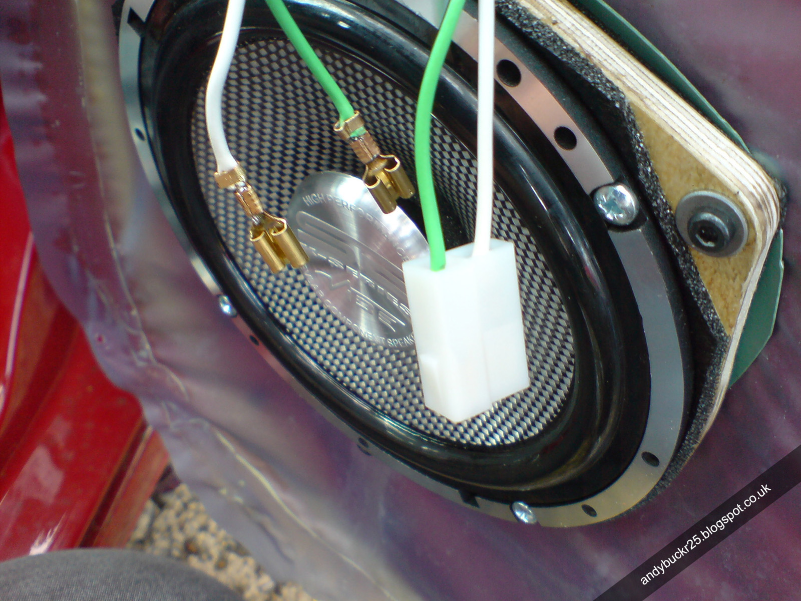 MG Rover 25 Build Blog: Front Door Speaker Upgrade