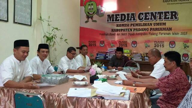 KPU Tetapkan Tuanku Samar PAW DPRD Padangpariaman