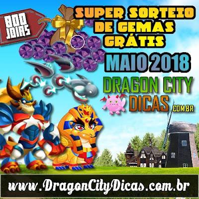 Super Sorteio de 800 Joias Grátis - Maio 2018