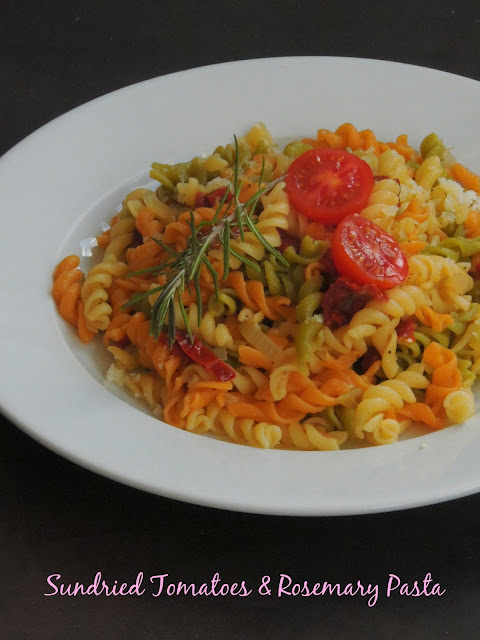 Sundried Tomatoes, Rosemary Pasta