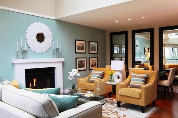Warna Cat Ruang Tamu Modern