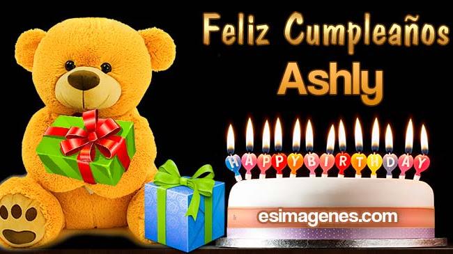 Feliz Cumpleaños Ashly