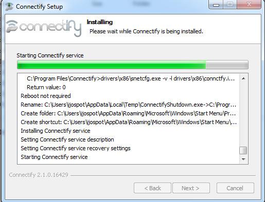 Debian setup vpn connection
