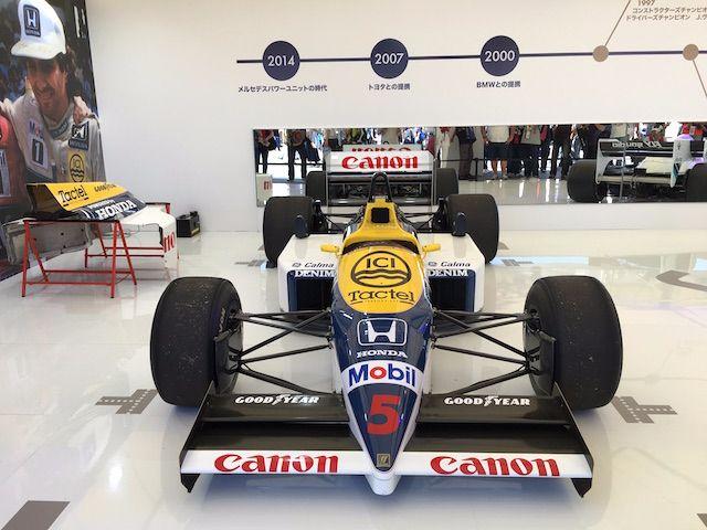 F1日本グランプリ2017 ウィリアムズFW11