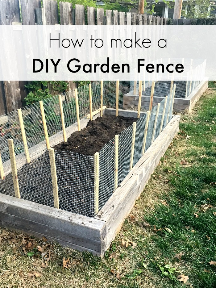 Captivating How To Make A Vegetable Garden Fence