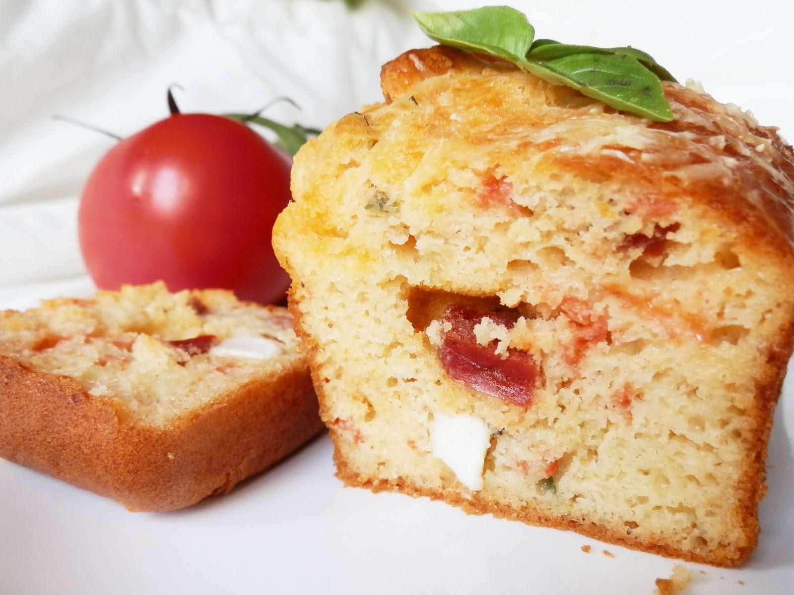 Cakes tomates féta chorizo