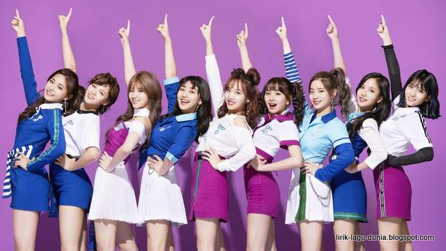 Lirik Lagu Twice - Candy Pop