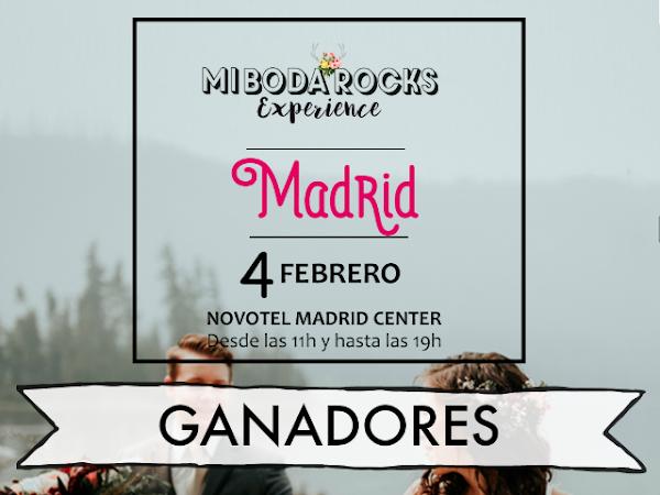 Ganadores Mi Boda Rocks Experience Madrid 2018