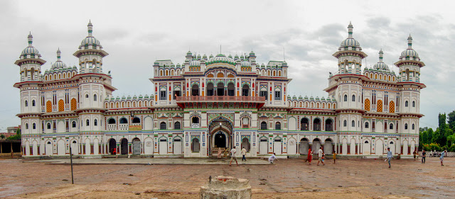 Ram Janaki Temple Janakpur birthplace of Janaki