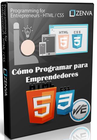 Cómo programar para emprendedores – HTML y CSS – ZENVA
