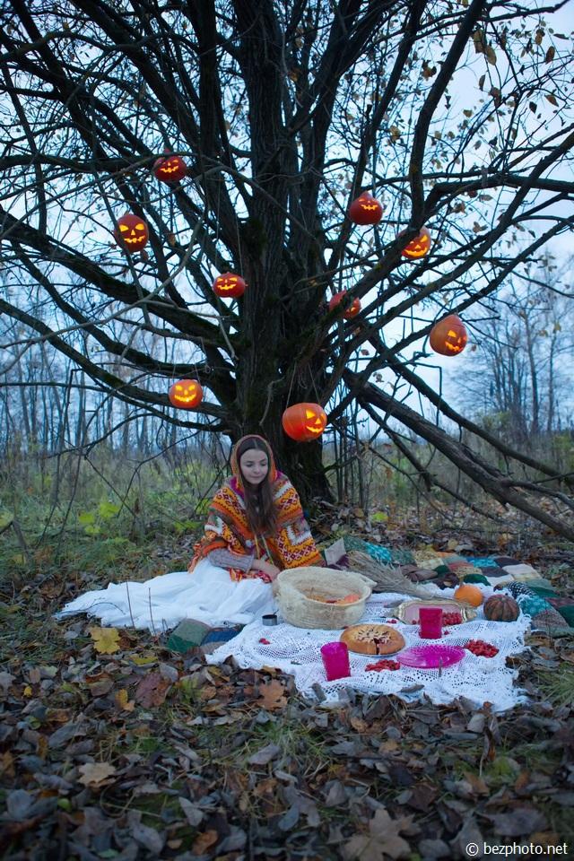 пикник хэллоуин