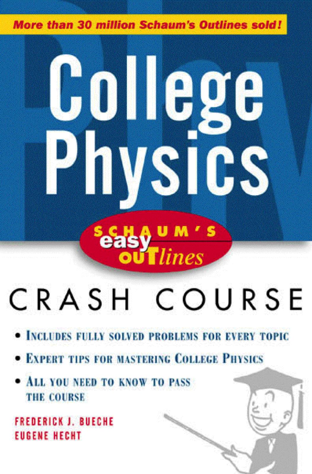 FREE PDF BOOKS OF PHYSICS ~ House of Physics