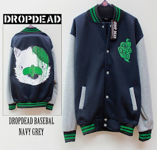 Jaket Fleece Hoodie - Dropdead DROP012