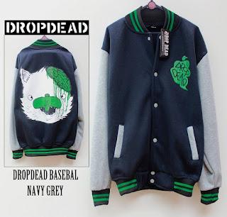 Jaket Fleece Hoodie - Dropdead DROP012