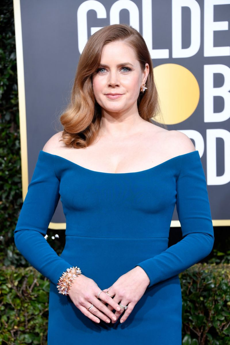 Amy Adams at 2019 Golden Globe Awards in Beverly Hills