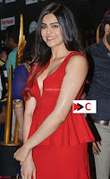Adah Sharma in Red Deep Neck Spicy Gown ~  Exclusive 09.jpg