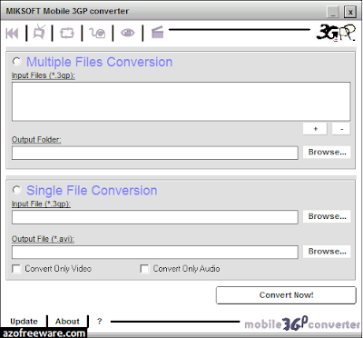 MIKSOFT Mobile 3GP converter
