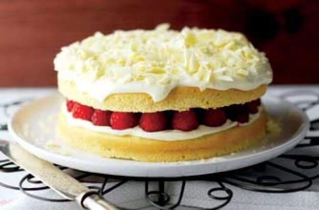 Weight Watchers White Chocolate Cake