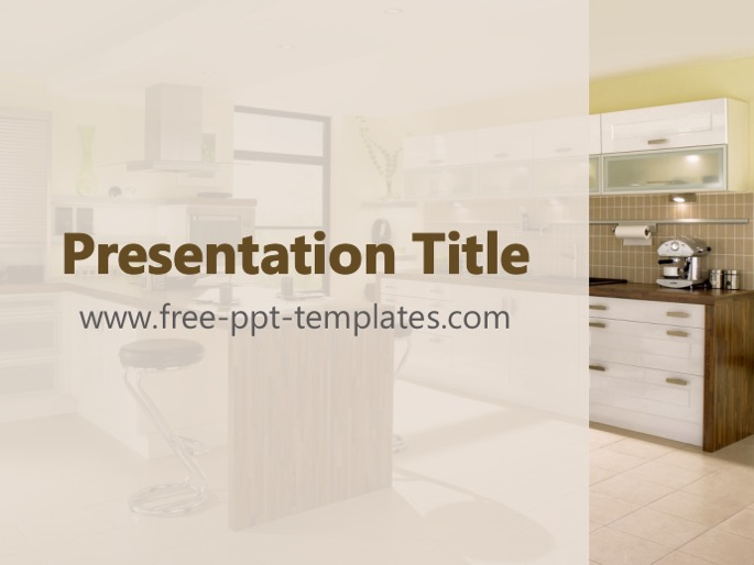 Kitchen Ppt Template