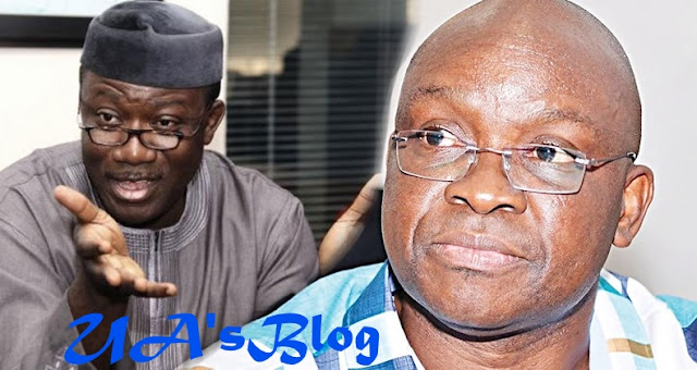 Fayose Declines Fayemi's Invitation To His Inauguration