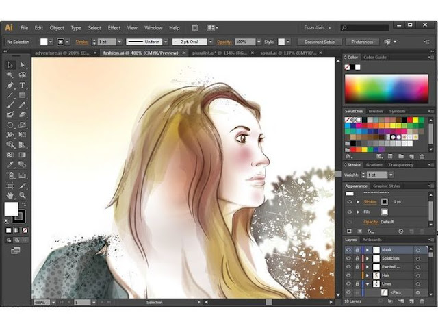 Adobe Illustrator CC Portable Free Download