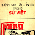 Những Quy Luật Chính Trị Trong Sử Việt - Vũ Tài Lục