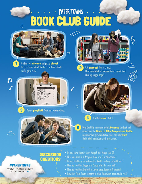 Paper Towns Book Club Guide