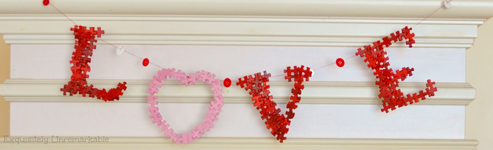 DIY Puzzle Word Love