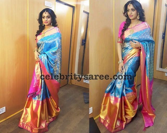 Udhaya Bhanu Traditional Silk Saree