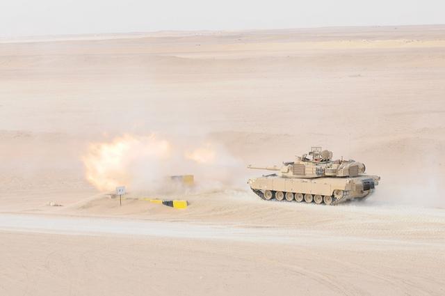 M1-A2 Abrams tank pic