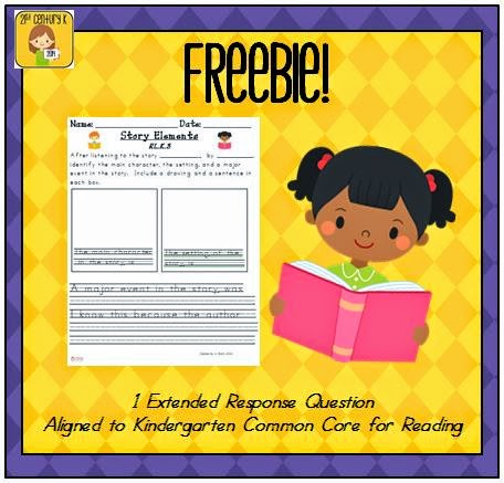 http://www.teacherspayteachers.com/Product/Kindergarten-Reading-Extended-Response-RKL3-FREEBIE-736141