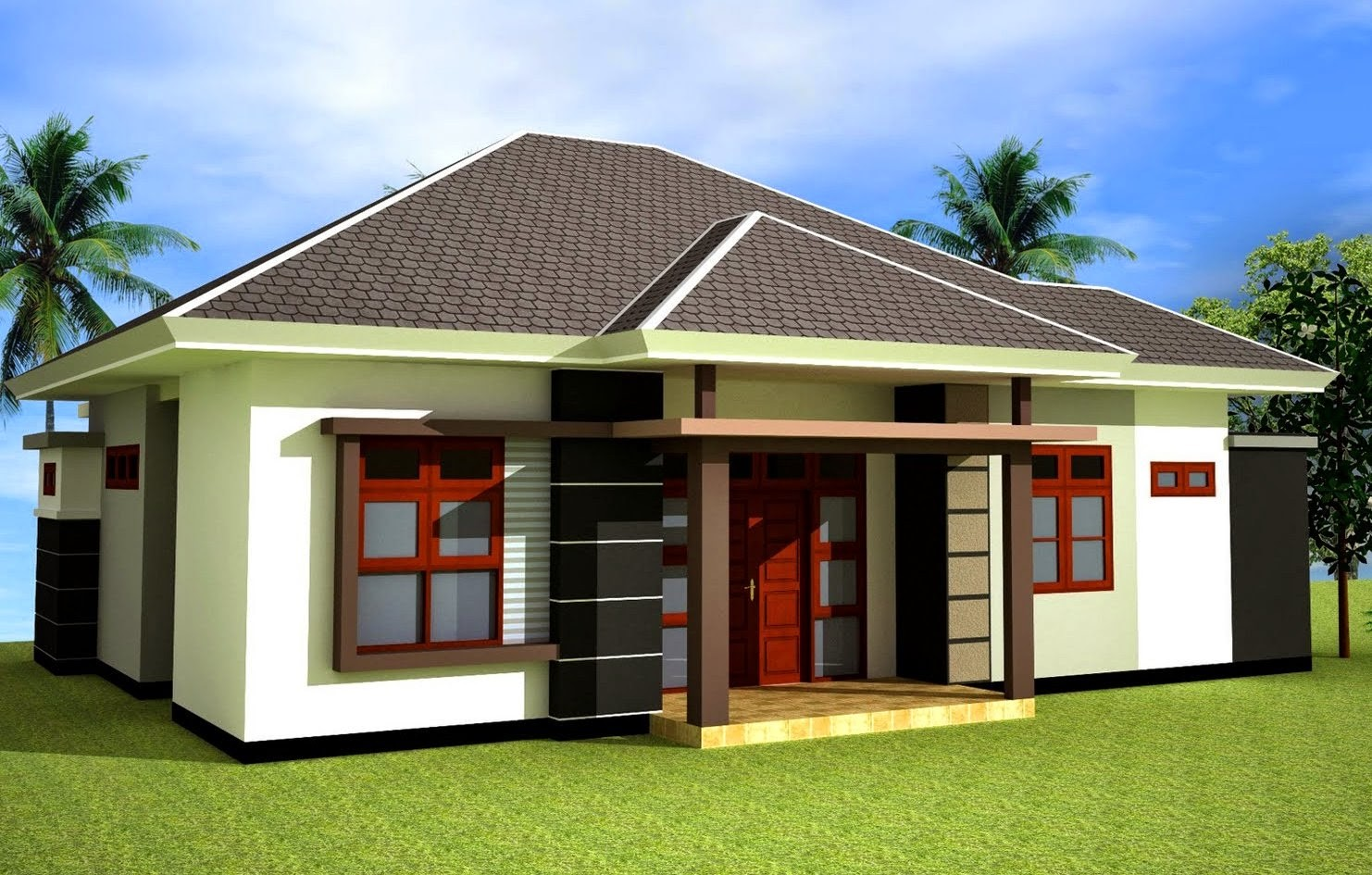 model rumah atap limas 3