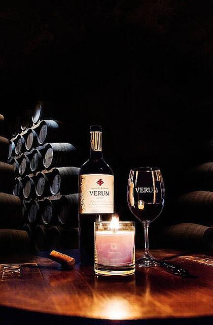 Velas aromáticas para wine lovers
