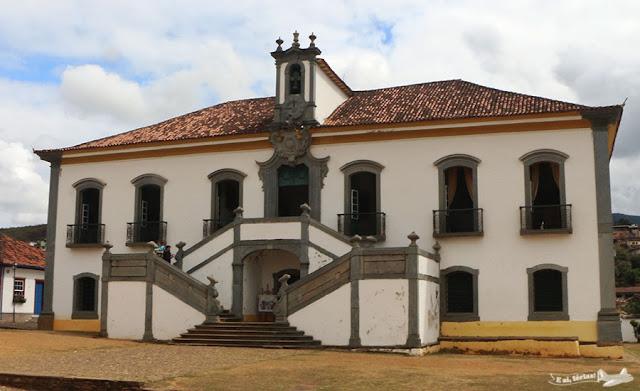 Casa da Câmara e Cadeia, Praça Minas Gerais, Mariana, Minas Gerais.