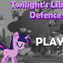 MLP Twilight's Library Defence