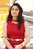 Telugu Actress Zahida Sam Latest Pos in Red Gown at RF Films New Movie Opening  0044.JPG