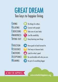 Ten keys to happy living