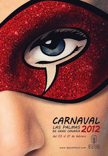 Las Palmas de Gran Canaria - Carnaval 2012 -  ¡Tu mirada lo dice todo! - Miguel Ángel Sosa