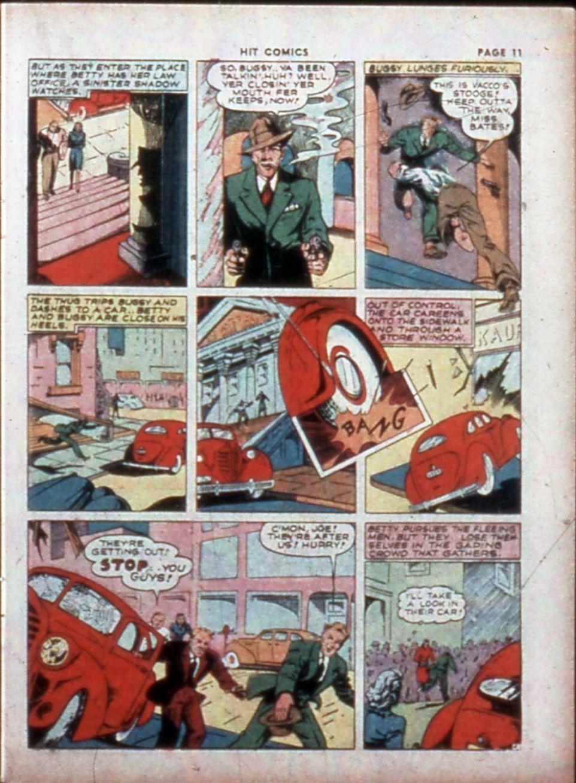Read online Hit Comics comic -  Issue #14 - 13