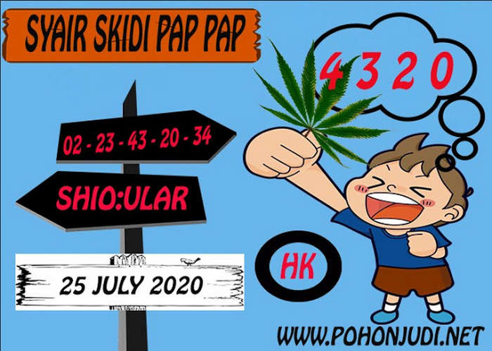 Kode syair Hongkong Sabtu 25 Juli 2020 289