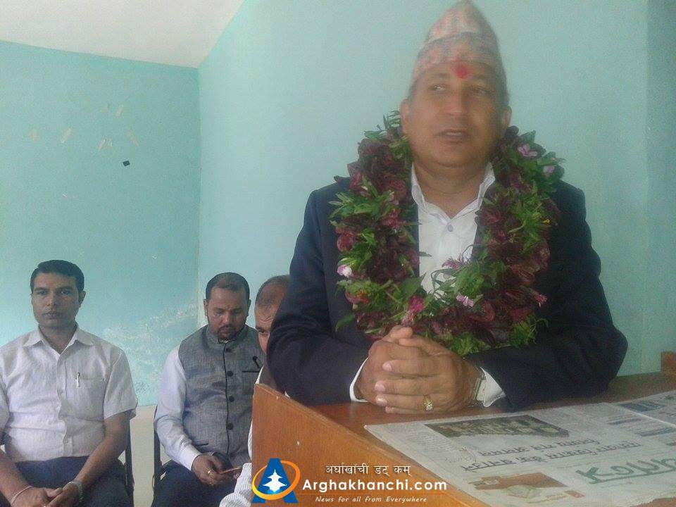 Image result for प्रमुख जिल्ला अधिकारी कृष्ण बहादुर कटुवाल arghakhanchi