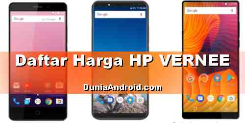 Harga HP Vernee Android