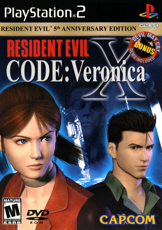 jogo resident evil code veronica x para ps2