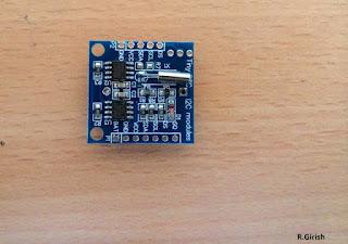 RTC module DS1307 circuit IC details