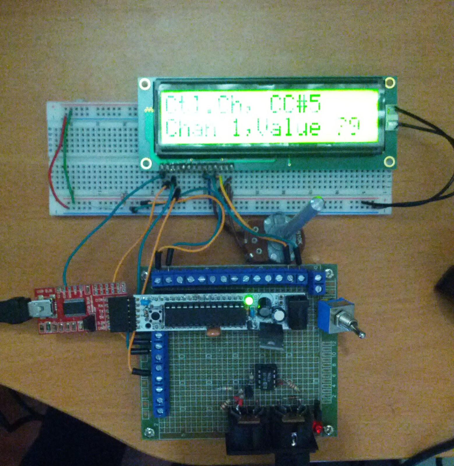 Arduino Midi Message Decoder   Youth Vulture