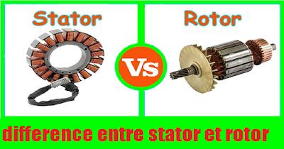 Différence entre Rotor et Stator