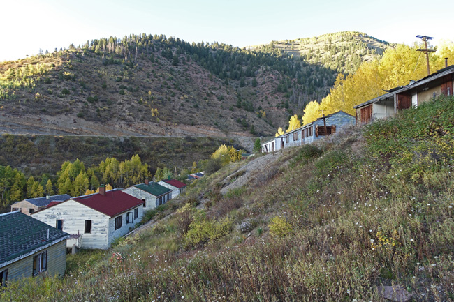 Gilman Colorado Ghost Town and EPA Superfund Site