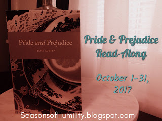 Pride and Prejudice Read Along