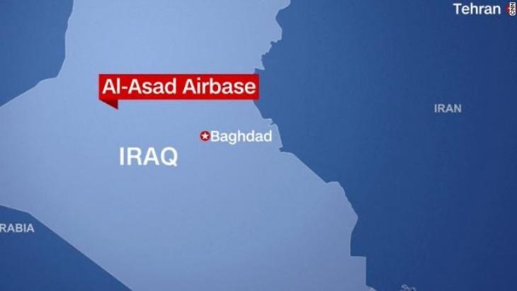 Diez cohetes impactan base con militares estadounidenses en Iraq